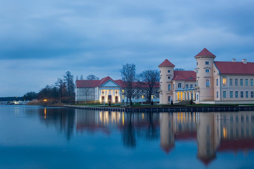 Schlosstheater und Schloss Rheinsberg